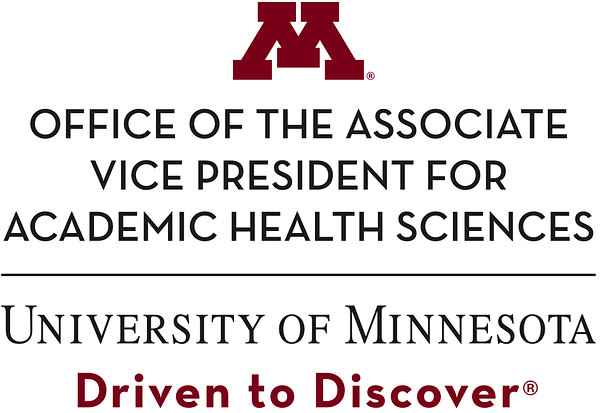 University of Minnesota Office of the Associate Vice President for Academic Health Sciences logo